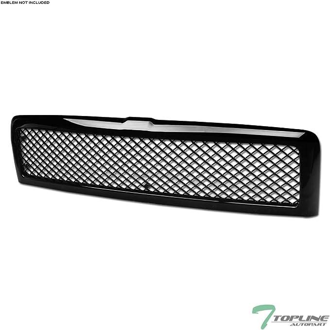 Titanium Plus Autoparts Compatible With DODGE Ram 1500 2500 3500 FOG LAMP COVER WITHOUT SPORT PACKAGE Pair