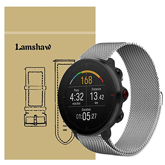 Amazon.com: for Polar Vantage M Band, Lamshaw Quick Release ...