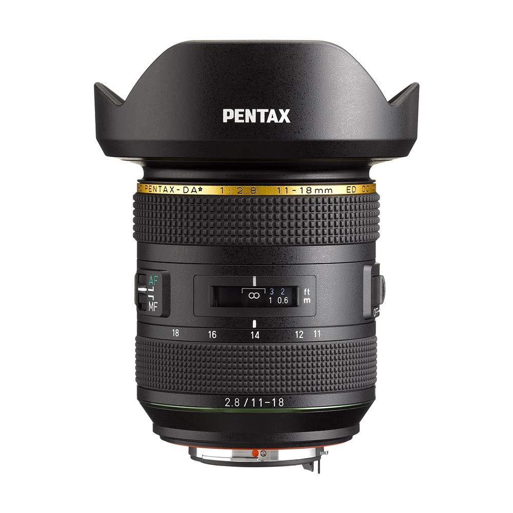 ペンタックス 大口径超広角高性能ズームレンズ HD PENTAX-DA*11-18mmF2.8 ED DC AW W/C Kマウント 21230   B07N8HS5Y3