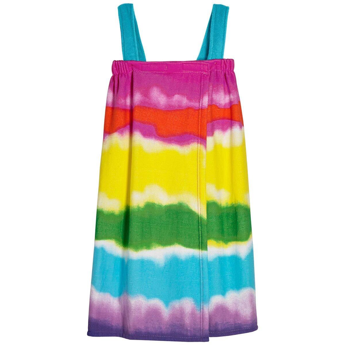 3C4G Teens Shower Beach Wrap (Tie Dye, M/L-26)