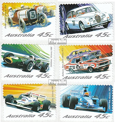 The 8 best auto racing stamps