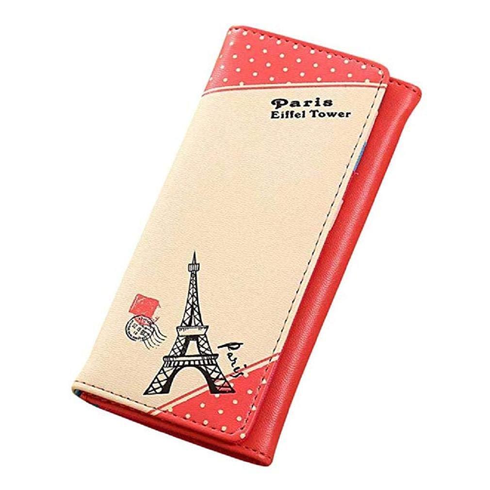 Ofertas! Scpink Bolso de mano de París Eiffel Tower Hasp ...