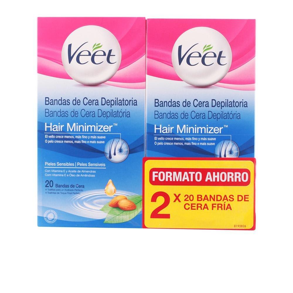 Veet Bandas de Cera Corporales, Pieles Normales - 2 Piezas 8410104511548