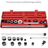 Car Engine Camshaft Cam Bearing Installation Insert Remove Tool Kit Driving Shaft Driving Collars