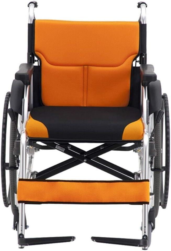 Ping BU Qing Yun Volante for Silla de Ruedas Aleación de Aluminio Ligero Plegable y fácil de Transportar Patinete for Ancianos Silla de Ruedas