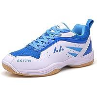 Mengxx Chaussures de Badminton pour Hommes Chaussures de Sport légères Tennis Respirant Baskets de Sport en Salle