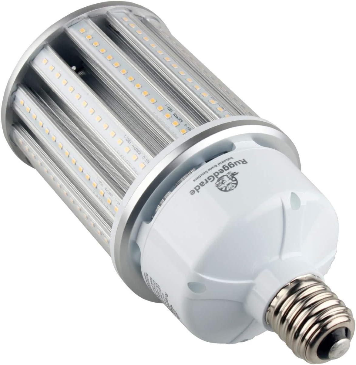 Aries S Series LED Corn Light Bulb 54 Watt LED Corn Light Bulb Mogul E39 Base 5000K Pure White 6KV Surge UL /& DLC 5 7400 Lumens Replacement for 125-175 watt HID//HPS//Metal Halide