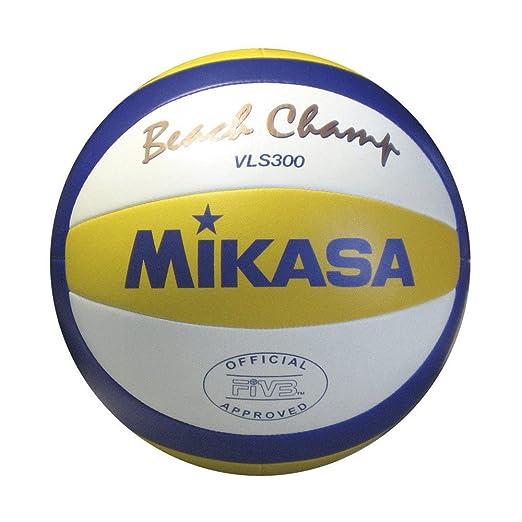 104 opinioni per Mikasa Vls-300 Pallone Da Pallavolo, Unisex – Adulto, Bianco/Giallo/Blu, 5