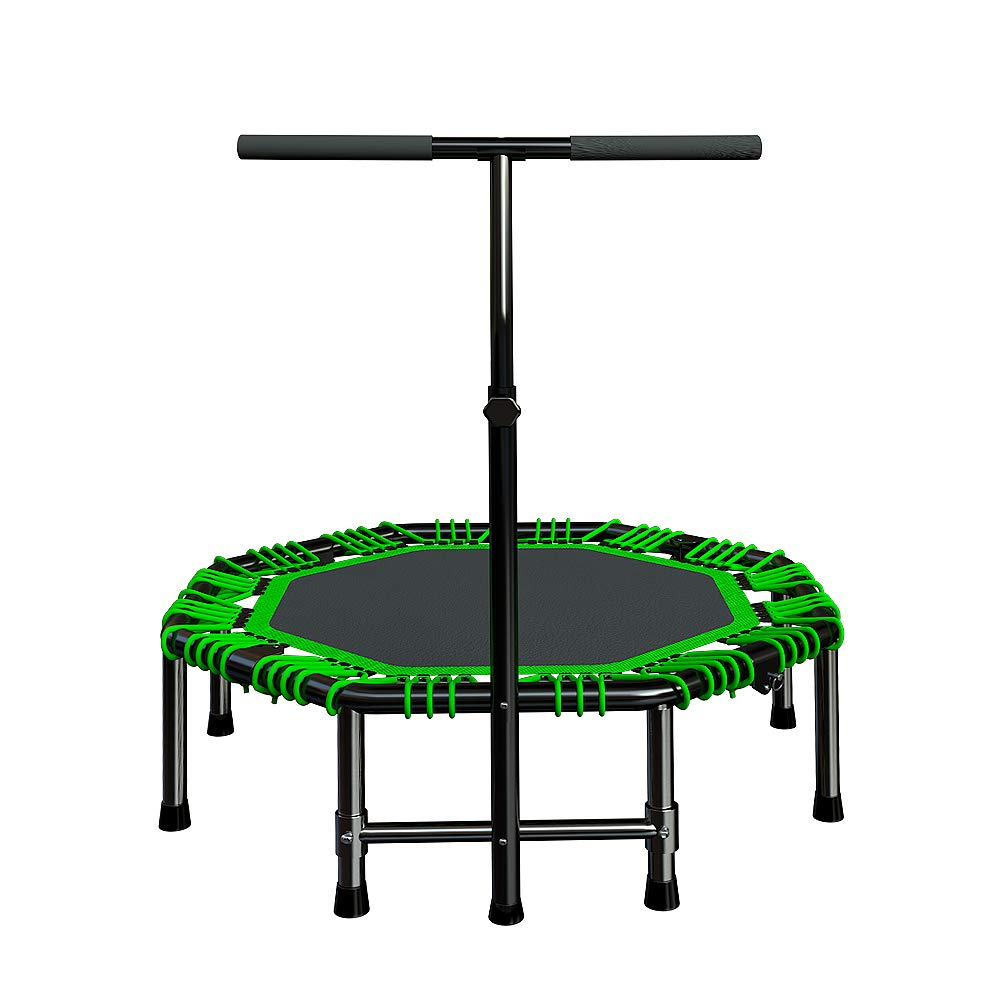 Fitness-Trampolin - Home Fitness-Elastikseil Gewichtsverlust Erwachsene Kinder Indoor Gym Klapp Frühling Trampolin 48 Zoll