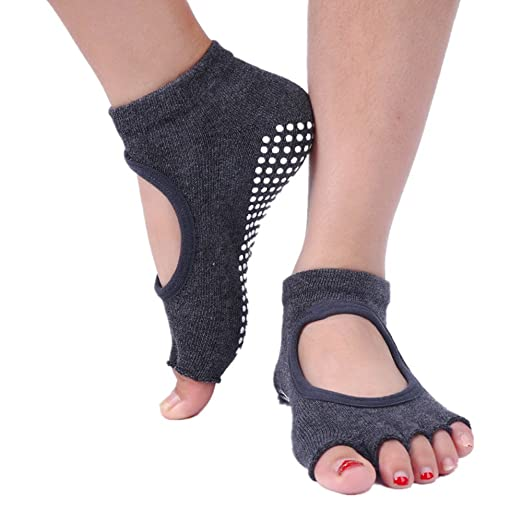 Calcetines de yoga Calcetines de yoga excavar cinco dedos ...