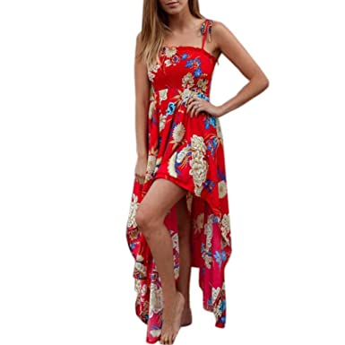 2023d1fbb575a Big Promotions! Summer Beach Dresses, Tootu Women Sexy Floral ...