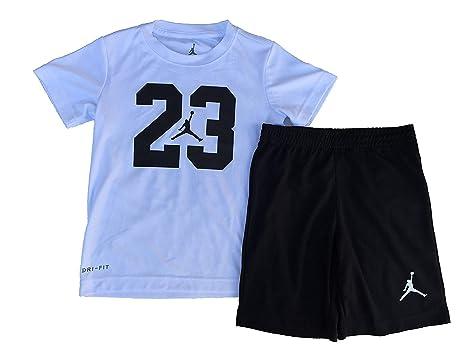 f889cf187b00 Image Unavailable. Image not available for. Color  NIKE Jordan Air Jordan  Boy`s T-Shirt and Shorts 2 Piece Set (