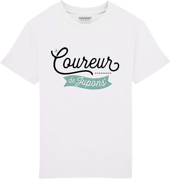 Annonce Grossesse Futur Grand fr/ère Protecteur Tshirt Mignon Teeshirt Enfant T Shirt imprim/é en France 100/% Coton Bio Manahia Tshirt gar/çon
