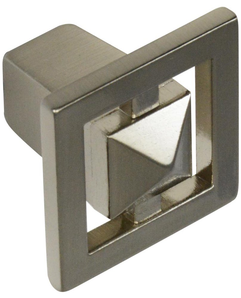 #1402 CKP Brand Cabinet Knob, Brushed Nickel - 10 Pack