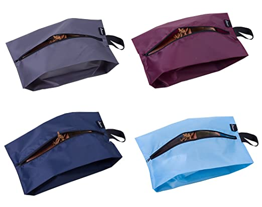 Misslo Portable Nylon Travel Shoe Bags