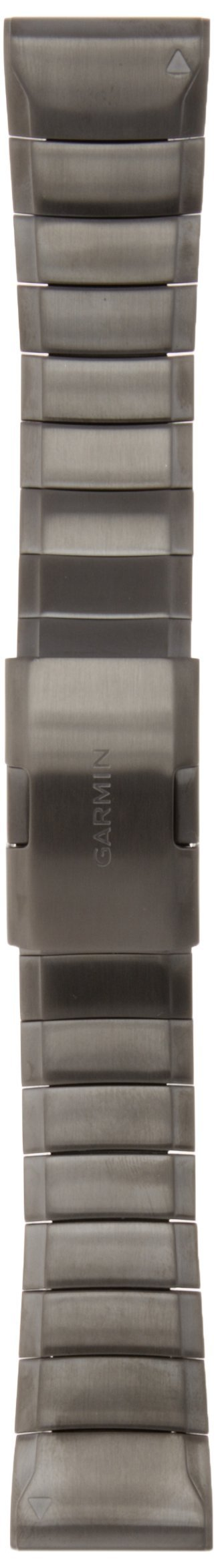 Garmin 010-12496-06 Fenix 5 Quick fit 22 Watch Band - Slate Grey Stainless Steel