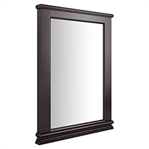American Standard 9210.101.322 Portsmouth Wall Mirror, Dark Chocolate