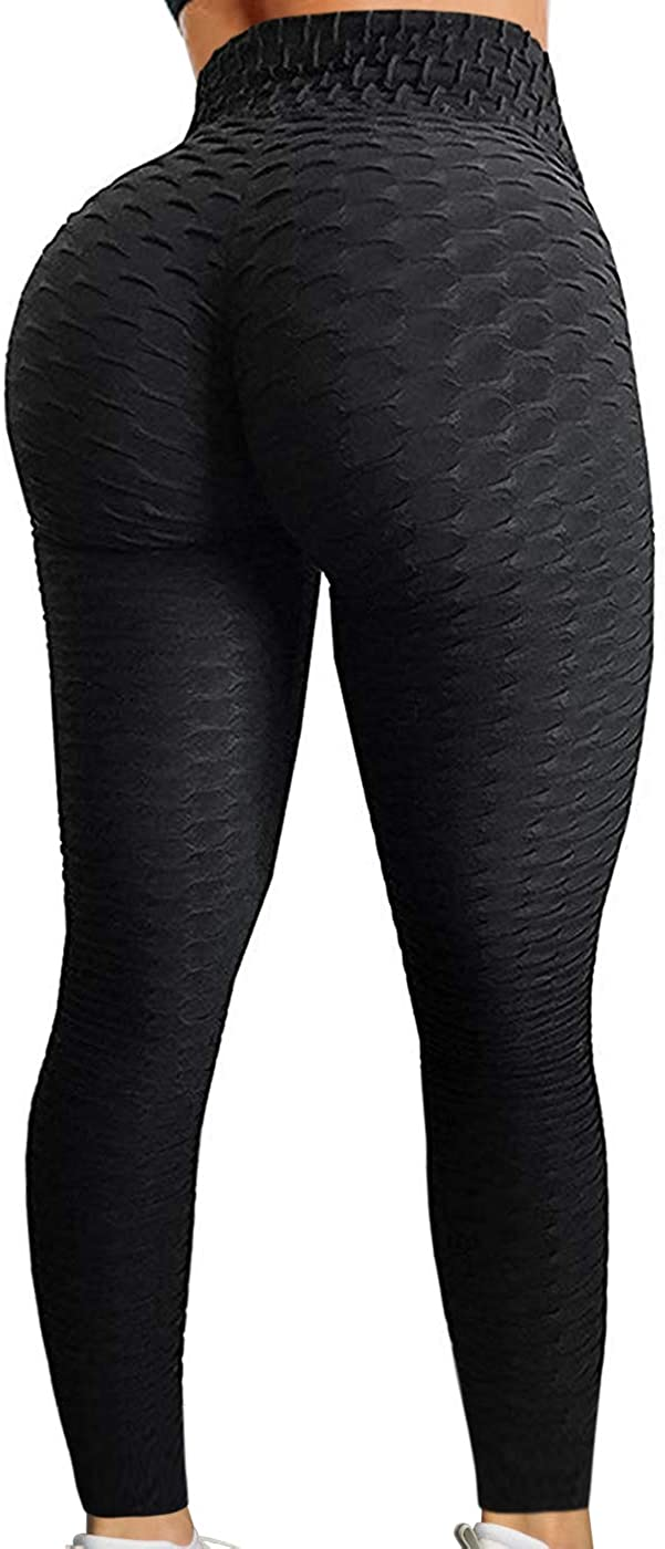 BEELU FASHION BOUTIQUE Womens Scrunch Butt Lifting Push Up Leggings High Waist Workout Running Gym Yoga Pant