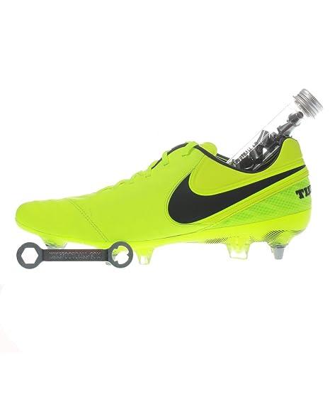 new product dea56 da9fe Nike Tiempo Legend VI SG-PRO -, Volt Black-Volt