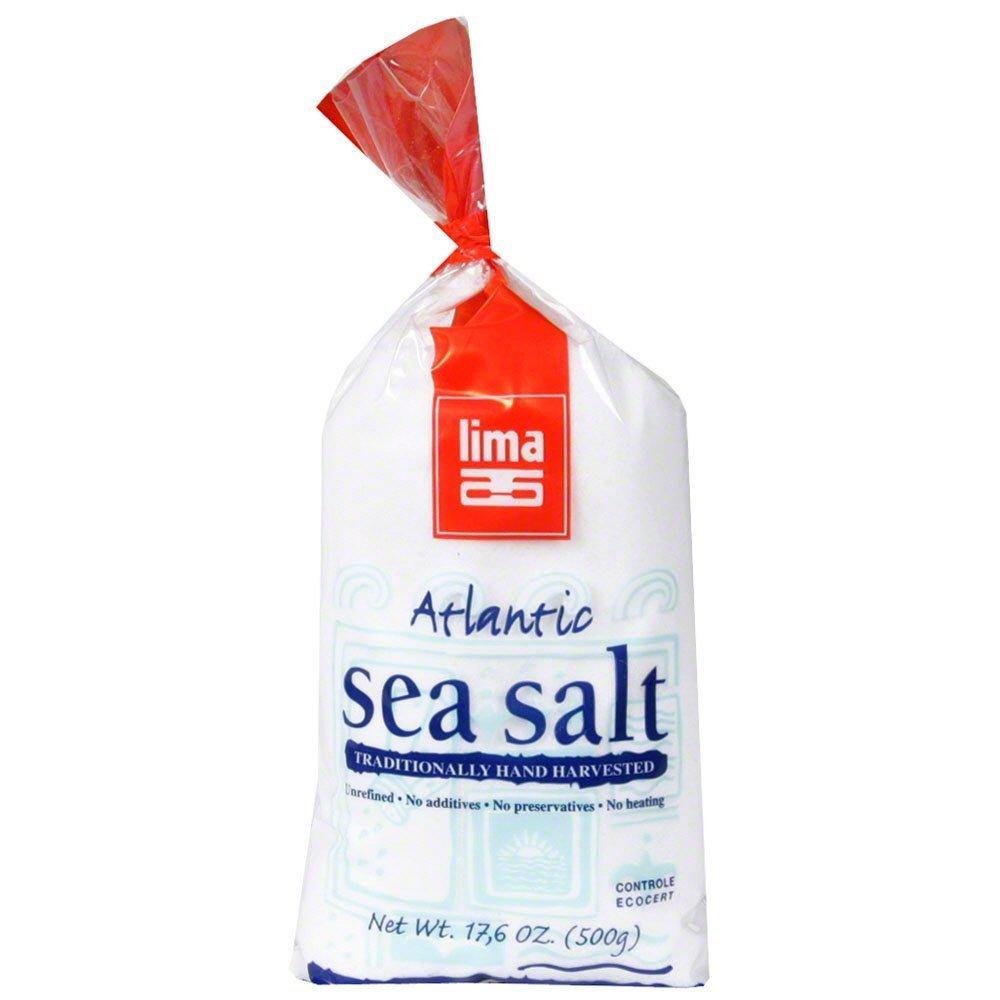 Atlantic Sea Salt 17.60 Ounces (Case of 12)