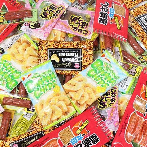 小袋食べきりおつまみ珍味 小分けセット B(5種・計190コ) おかしのマーチ