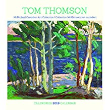 Tom Thomson 2019 Calendar (English and French Edition)