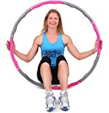 ResultSport The Orignal WAVE Weighted Fitness Exercise Hoop (1.2kg - 1.5kg - 2.0kg)