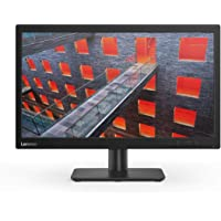 Lenovo V 19.5 inch (49.53 cm) LCD with LED Backlit lit Computer Monitor - HD, TN Panel with VGA - V20-10 (Black)