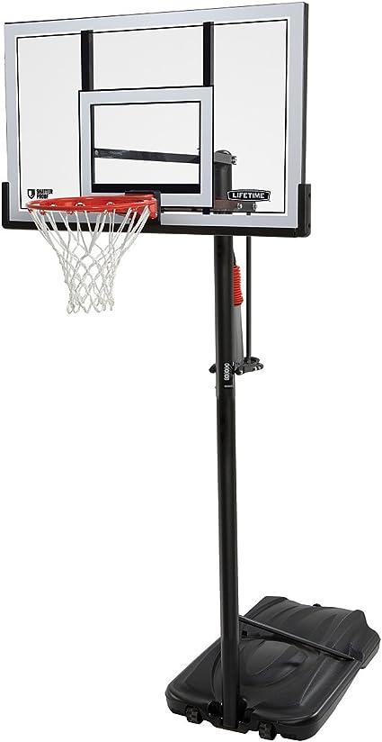 New Lifetime Poolside Basketball Hoop 1306 Polycarbonate Backboard Goal System