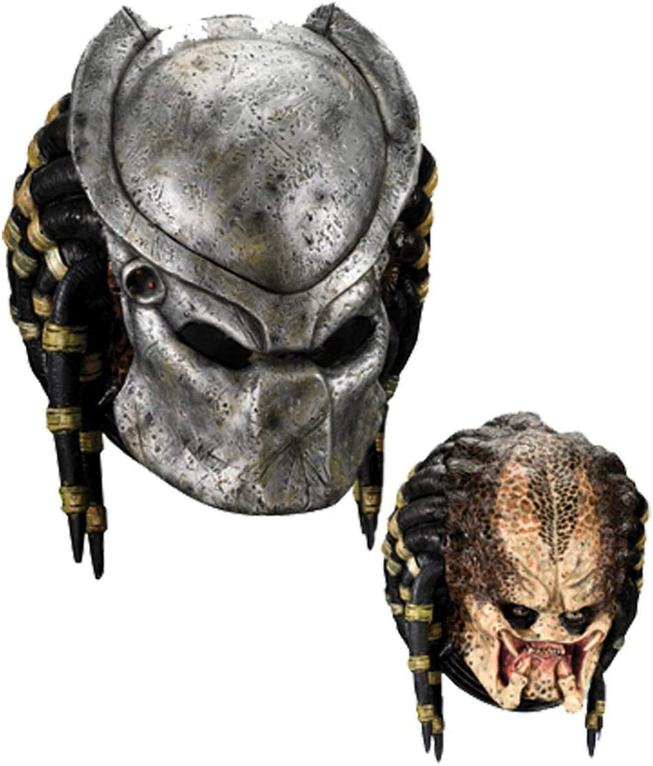 Horror-Shop Máscara Predator Deluxe: Amazon.es: Juguetes y juegos