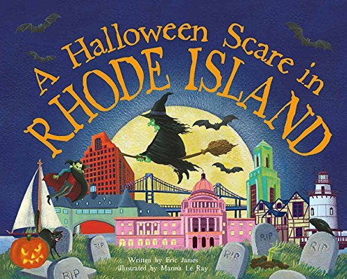 A Halloween Scare in Rhode Island (Halloween Scare...Prepare If You Dare) by Eric James - In Island Malls Rhode