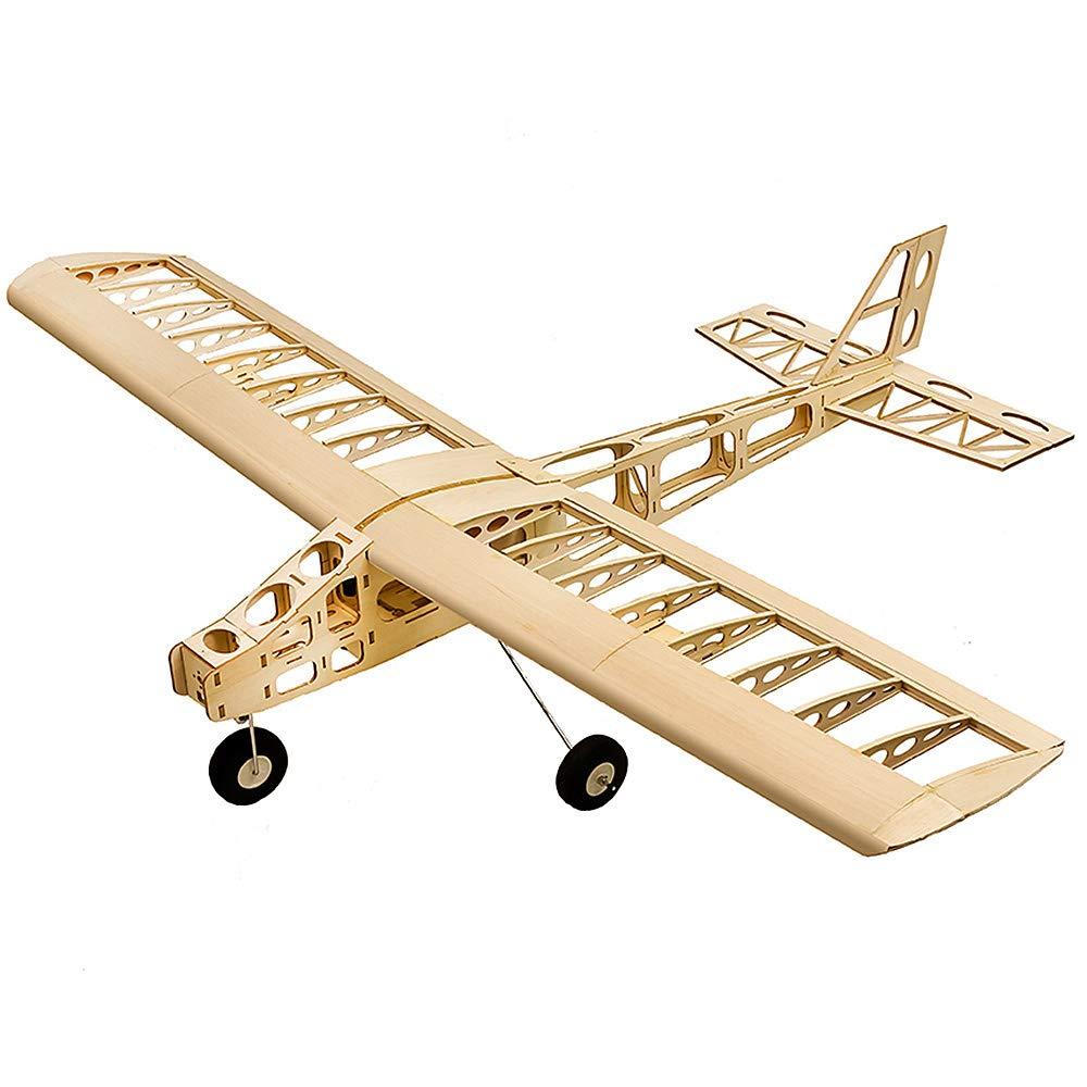 ventas calientes Goolsky DW Hobby T2504 Cloud Dancer Avión Avión Avión de Entrenamiento Balsa Wood 1300mm Wingspan Aviones RC Juguete Kit Avión con Motor ESC Servo DIY  punto de venta de la marca