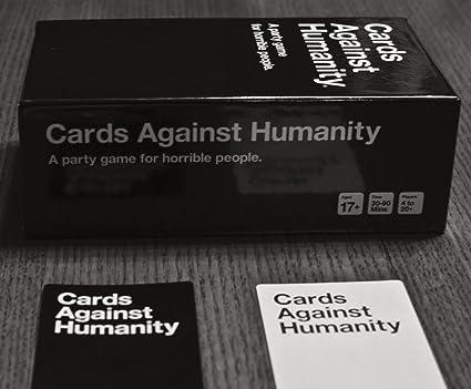 Vaialen Cartas contra la Humanidad, 550 Tarjetas Conjunto Completo de Base (20 Piezas) Juego: Amazon.es: Deportes y aire libre