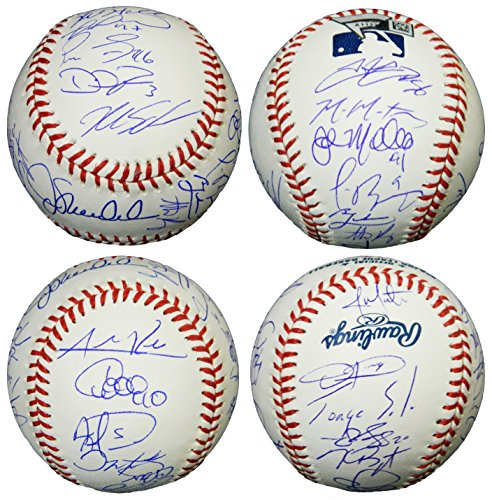 2016 Chicago Cubs Team Signed Rawlings Official MLB Baseball - Schwartz COA