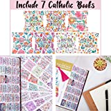 Decorative Catholic Bible Tabs, Floral Bible