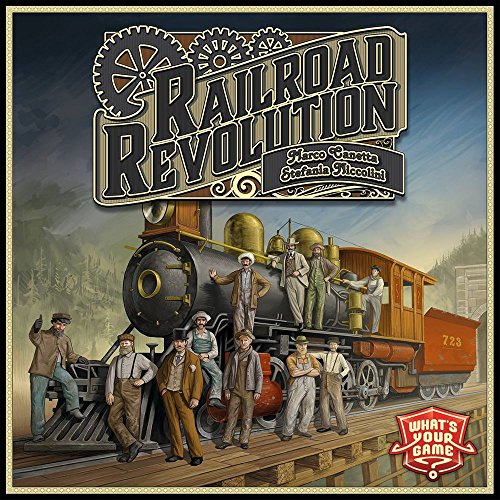 Matagot - Railroad Revolution - Le jeu - 4260316380128]()