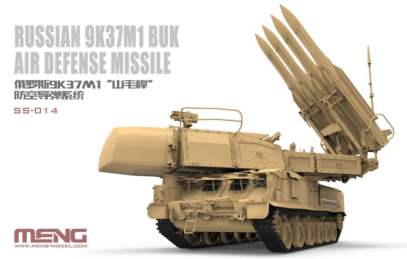 MNGSS014 1:35 Meng Russian 9K37M1 Buk Air Defence Missile System [Model Building KIT]   B07FY37HW2