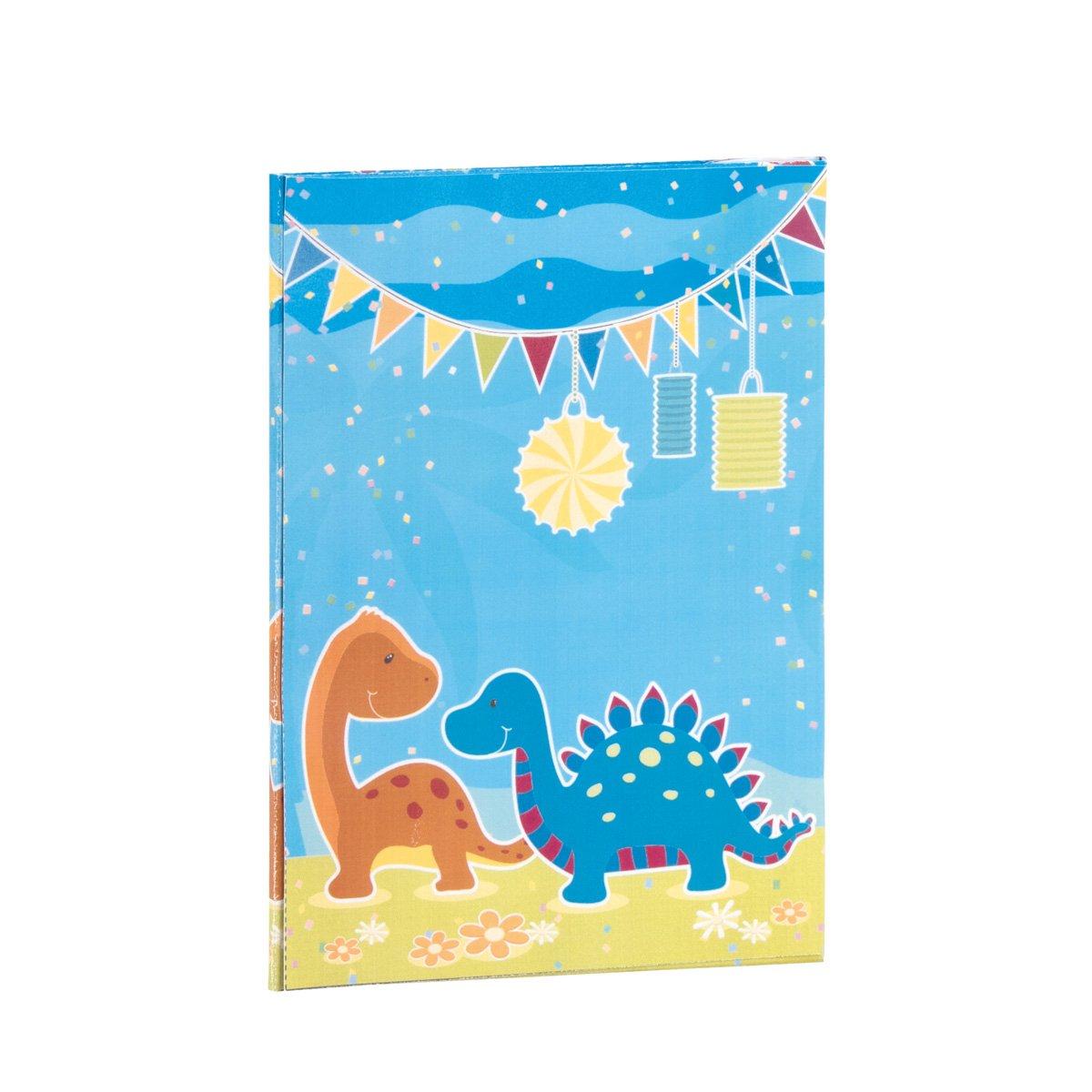 Rössler Papier - - Dino Party - Briefpapapierpack 10 10-165x235 90x177 - Liefermenge  6 Stück B07CX2WJBG | Qualitätskönigin