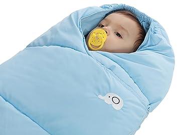 Bebé saco de dormir ANTI-KICK Otoño y Invierno Plus cachemir grueso algodón de plumas