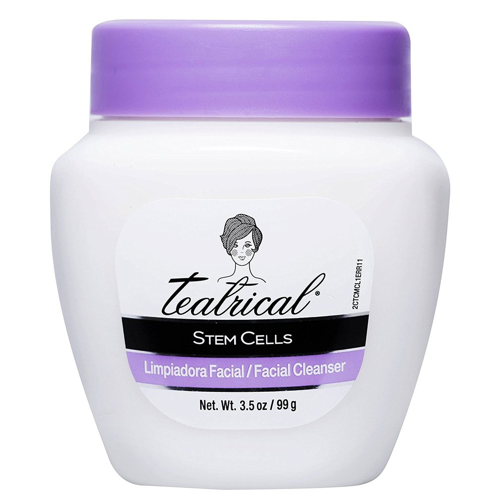 Amazon.com : Teatrical Stem Cells Facial Cleanser with Buddleja Stems GX, 3.5 Ounce : Beauty