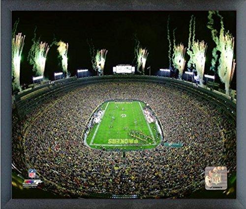 Lambeau Field Framed - Lambeau Field Green Bay Packers Photo (Size: 12