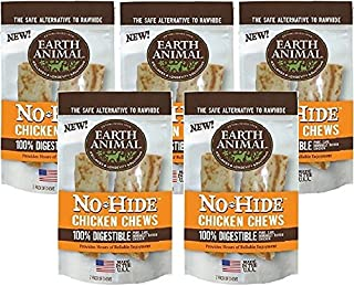 product image for Earth Animal No-Hide Chicken Chew, 7-Inch (5 Packs / 2 Chews Per Pack)