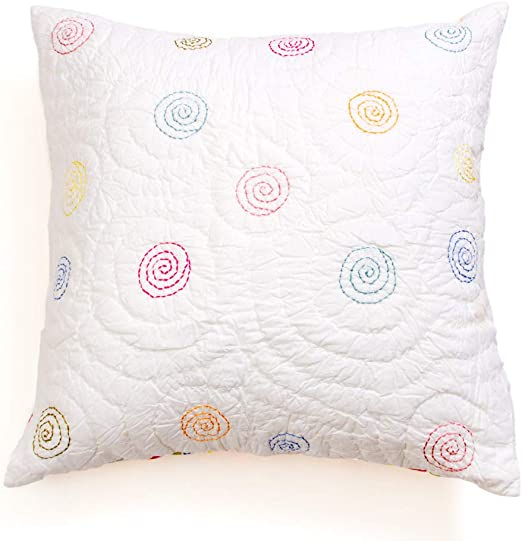 Be-You-tiful Home Blue Circle Standard Sham Multicolor