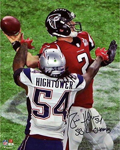 Donta Hightower New England Patriots Autographed 8  X 10  Super Bowl Li Champions Photograph With  Sb Li Champs  Inscription   Fanatics Authentic Certified