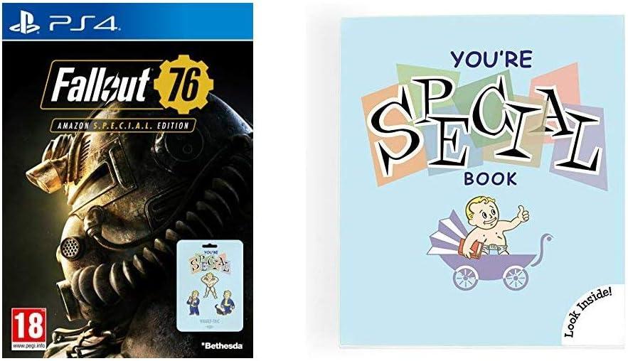 Fallout 76: S P E C I A L  Edition (Game + Set of 7 Pin Badges