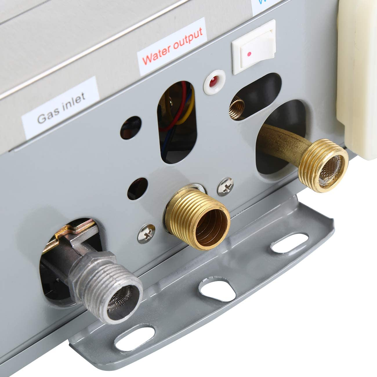 RIDGEYARD 8L//MIN Chauffe-Eau Instantané à Gaz LPG Propane Water Heater Douche