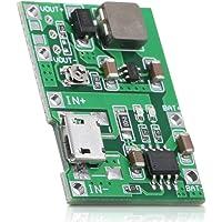 KKmoon 3.7V to 9V 18650 Lithium-Battery Charger Board DC-DC Step Up Boost Module TP4056 DIY Kit Parts