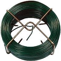 Connex Draadspin 1,4 mm x 50 m, groen/binddraadspoel/knutseldraad/afrolspin/wikkeldraad / FLOR78610