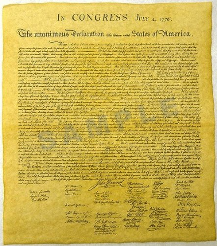 declaration essay independence