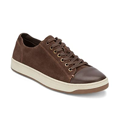 Lucky Brand Pyle Sneaker In Chocolate